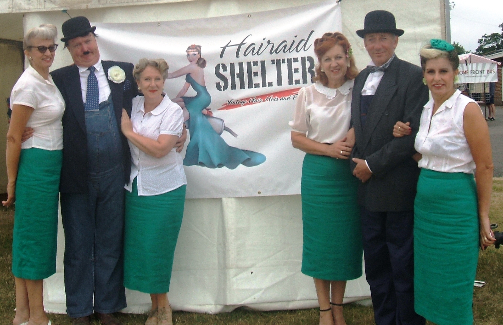 Hairaid Shelter events