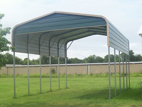 20' x 25' x 12' Regular Roof RV Cover