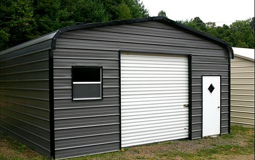 18' x 20' x 9' Regular Roof Garage