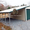 Thumbnail: 38' x 25' x 11' Vertical Roof Garage with Lean-To