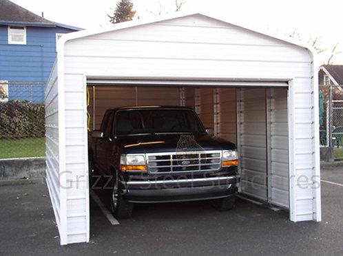 12' x 25' x 9' One Car Garage