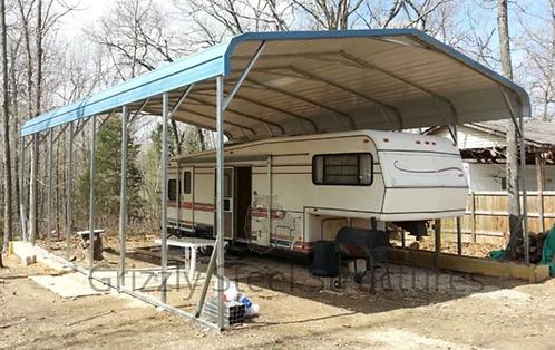 20' x 35' x 10' Regular Roof Camper Cover