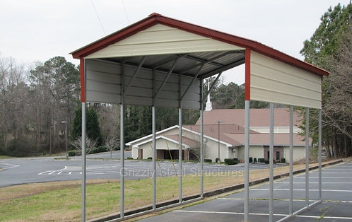 12' x 20' x 12' Vertical Roof RV Cover