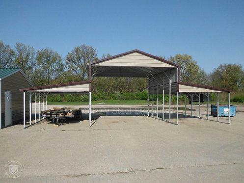 42' x 26'L x 11' Open Carolina Barn