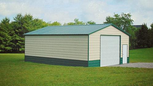 24' x 30' x 10' Vertical Roof Workshop