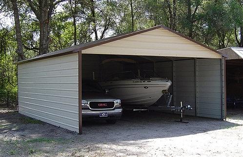 20' x 25' x 9' A-Frame Horizontal Roof Carport