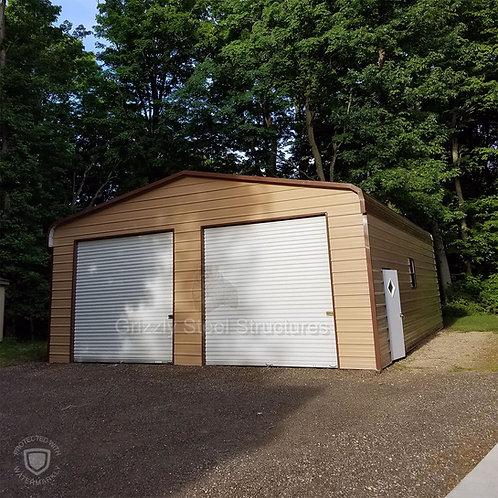 30' x 35' x 11' Regular Roof Garage