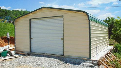 18' x 25' x 10' Regular Roof Garage