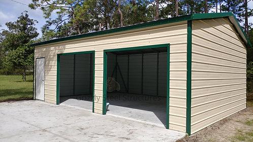 20' x 30' x 10' Side-Entry Garage