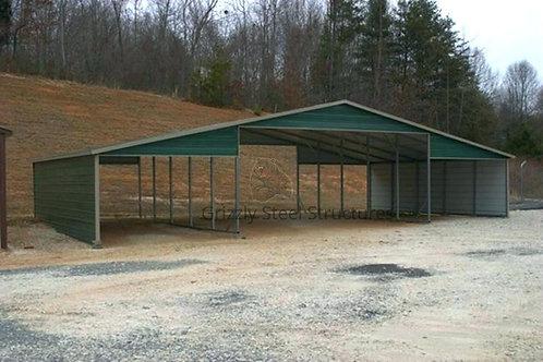 48' x 25' x 10' Open Seneca Barn