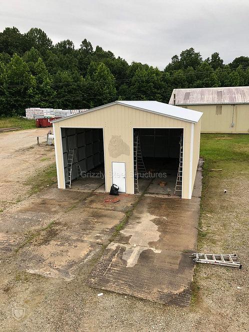 30'W x 45'L x 13'H Vertical Roof Garage