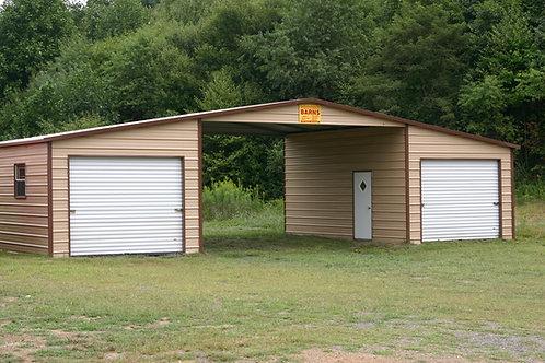 46' x 31' x 12' A-Frame Horizontal Seneca Barn