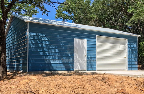 20' x 31' x 9' Boxed Eave Garage