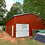 Thumbnail: 24' x 60' x 13' All-Vertical Roof Garage