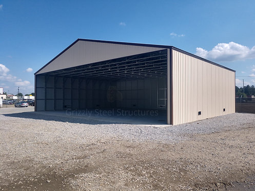 40' x 45' x 14' All-Vertical Clear Span Building