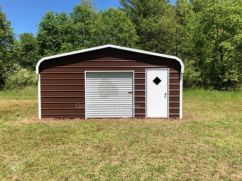 18' x 21' x 7' Regular Roof Garage