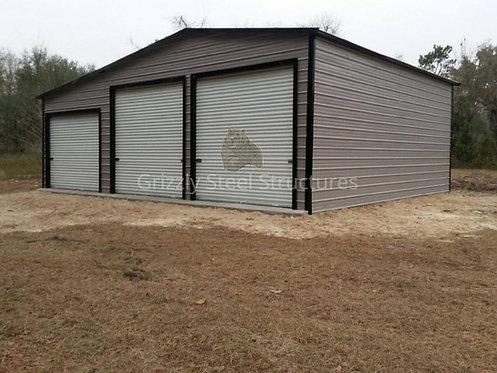 34' x 30' x 12' Seneca Style Metal Barn