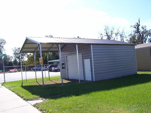 20' x 31' x 10' Vertical Roof Utility Building