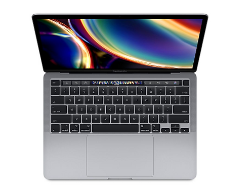"13"" MacBook Pro: Apple M1 chip with 8‑core CPU and 8‑core GPU, 256GB SSD"