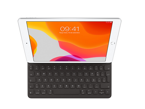 Smart Keyboard for iPad(7th generation) and iPad Air (3rd generation)-Portuguese