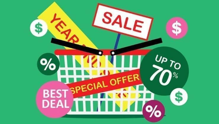 purchasing in different ways specials and sale prices