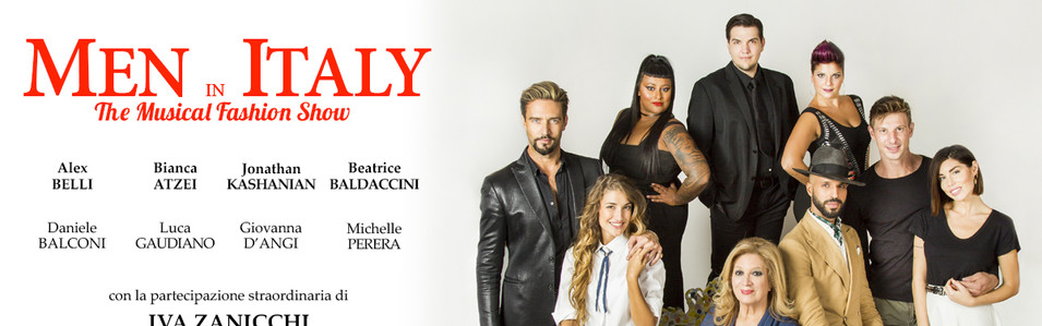 """""""Men in Italy"""" Il Musical"""