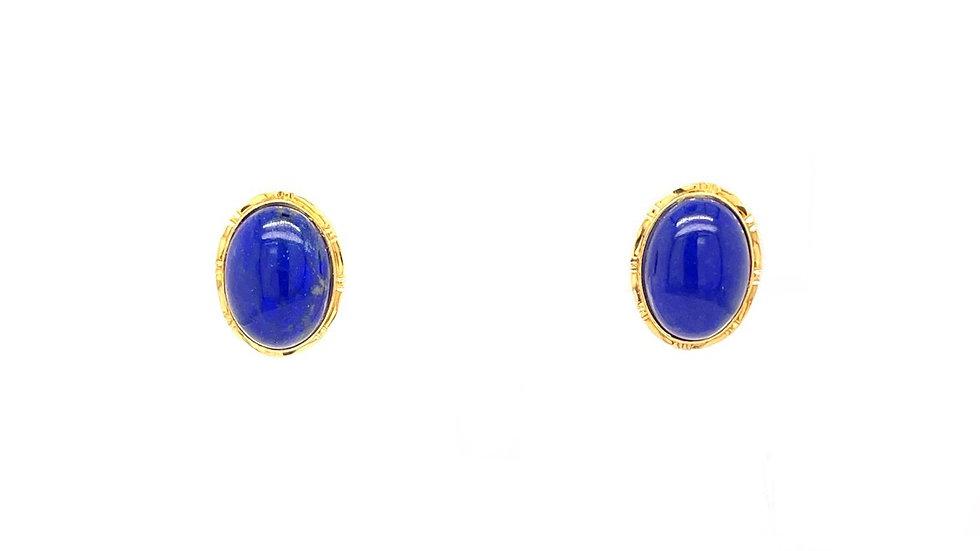 14K Lapis Earrings
