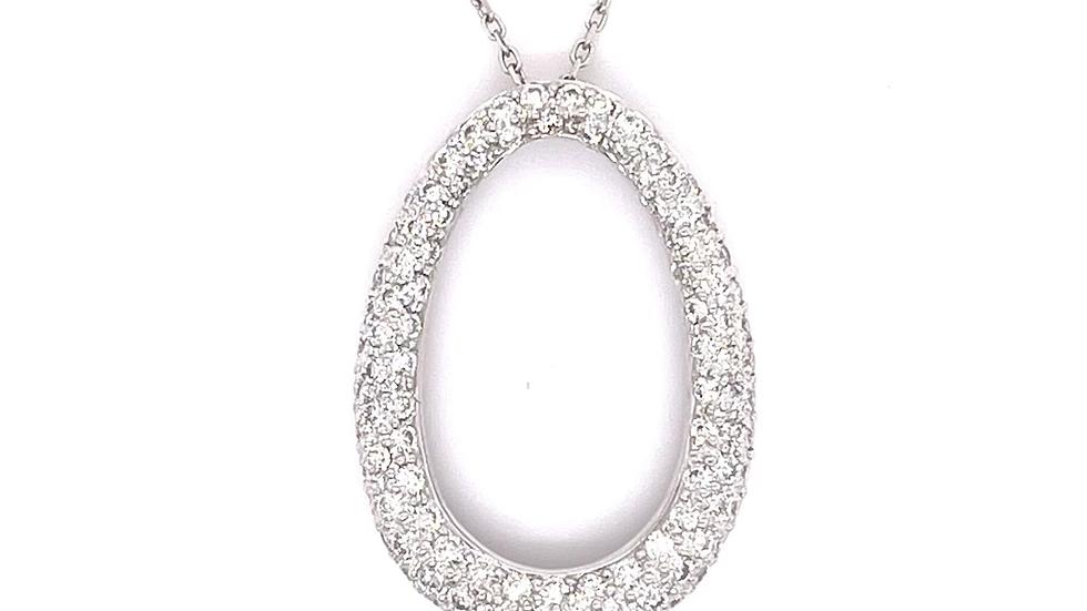 18K/14K Diamond Necklace
