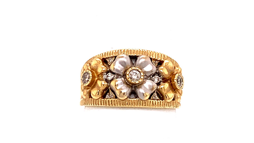 14K Two-Tone Ring