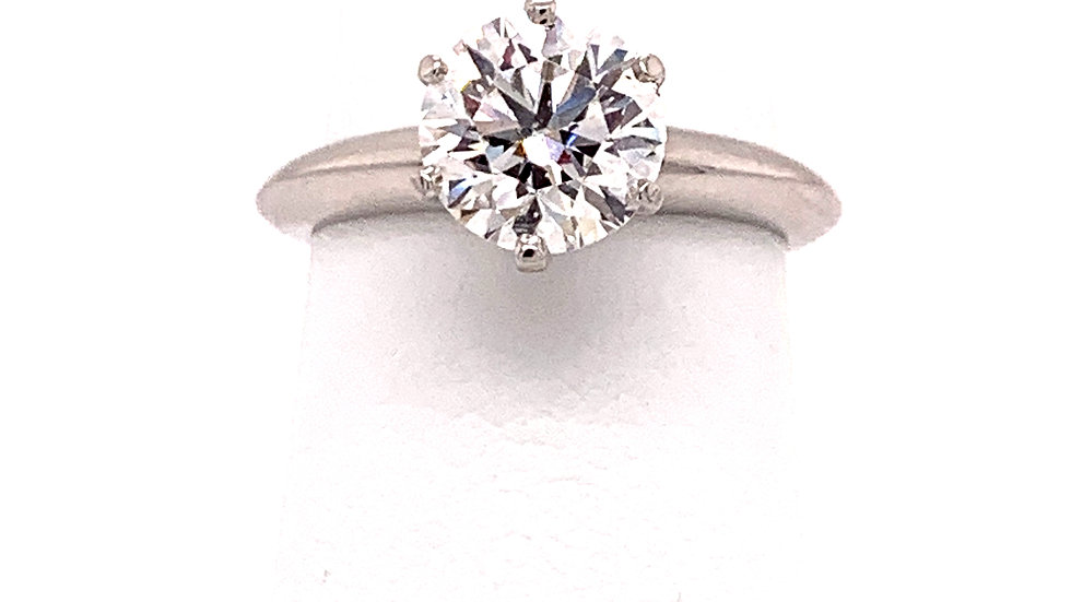 Platinum Tiffany and Co Ring IRB
