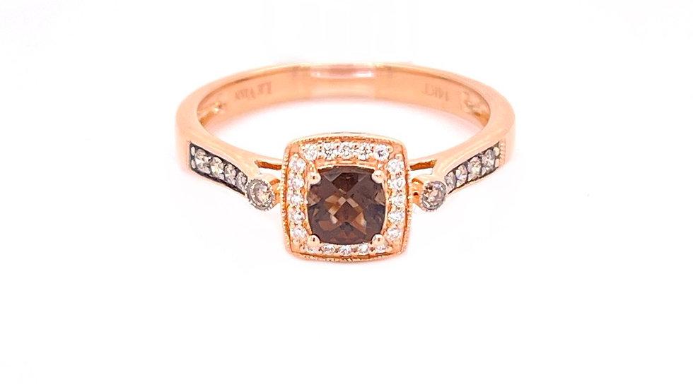 Le Vian 14K Rose Gold Chocolate Diamond ring!