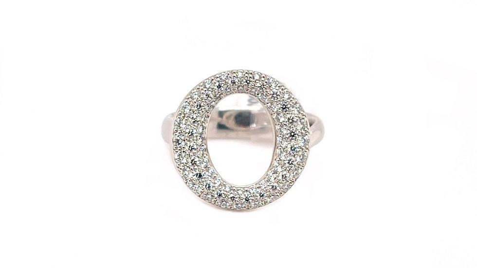 Platinum Tiffany Diamond Servillana Ring