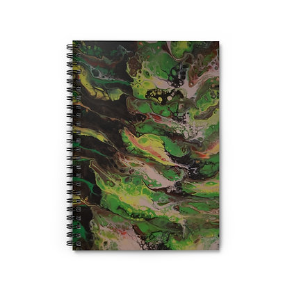 """JES"" Spiral Notebook - Ruled Line"