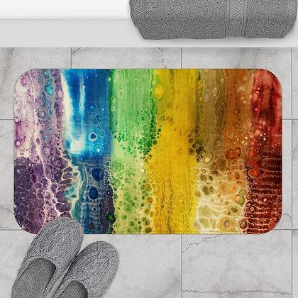 """Rainbow Falls"" Bath Mat"