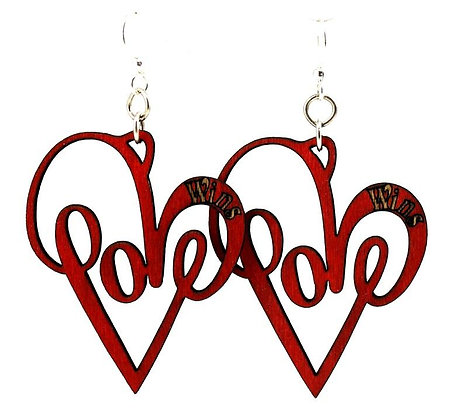 Love Wins Earrings #1366