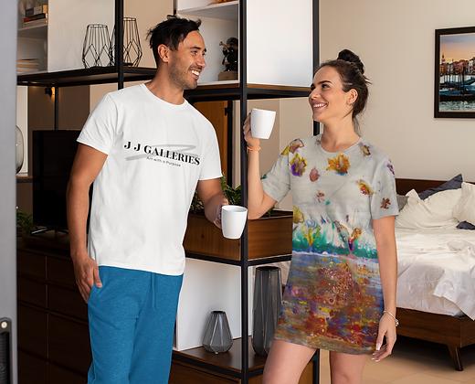 """""""Rainbow Garden"""" T-Shirt Dress"""