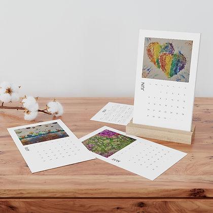 JJGalleries Vertical Desk Calendar