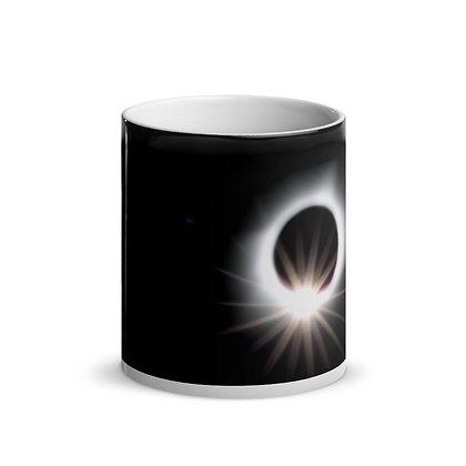 """Eclipsed"" Glossy Magic Mug"
