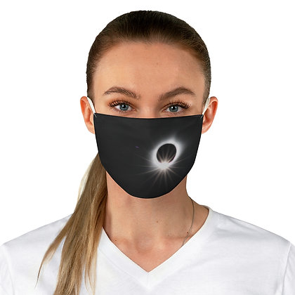 """Eclipsed"" Fabric Face Mask"