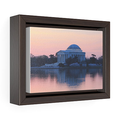"""A New Day 2021"" Horizontal Framed Premium Gallery Wrap Canvas Print"