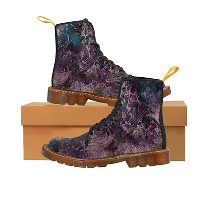 """"""" Stormy Weather"""" Women's Canvas Boots"""