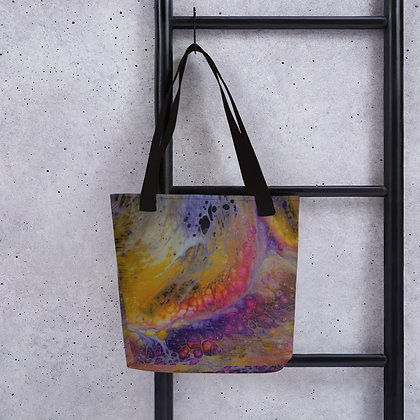 """Sunset Waves"" Tote bag"