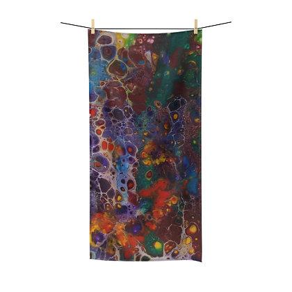 """Flower Garden"" Polycotton Towel"