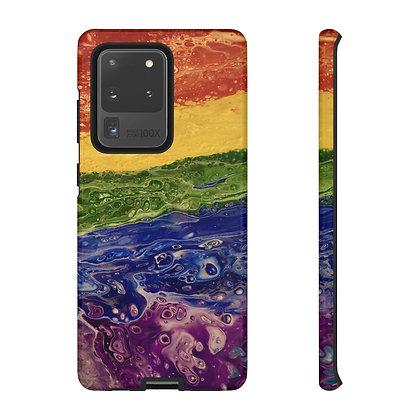 """Rainbow Striped"" Tough Cases"