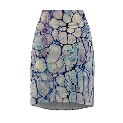 """Gavin"" Print Women's Pencil Skirt"