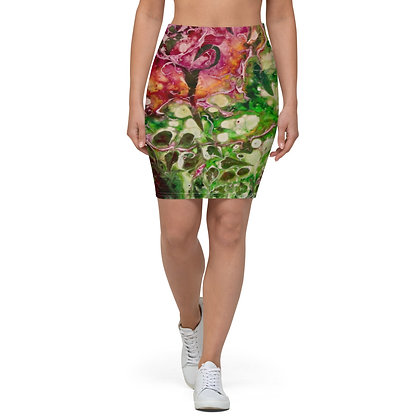 """Rose"" Pencil Skirt"