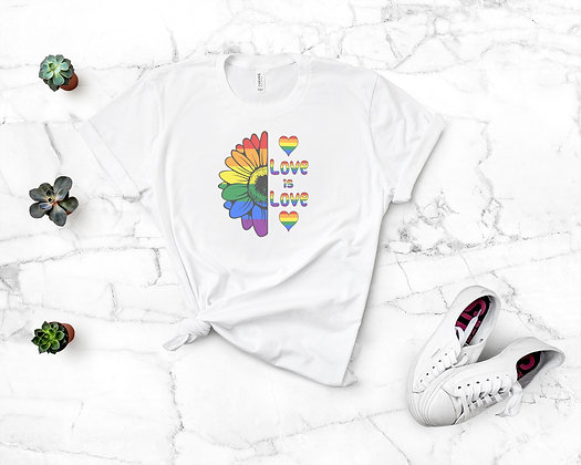 Love Is Love (Pride) Retro Tee