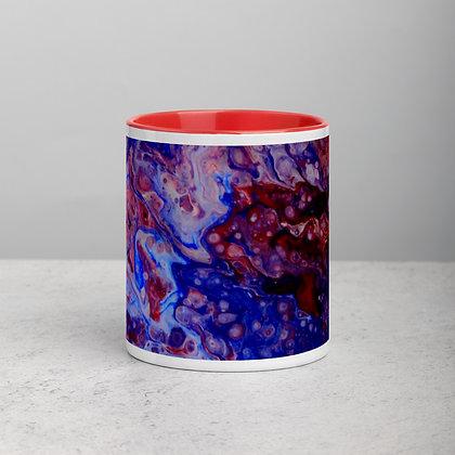 """""""U.S.A. Storm"""" Mug with Color Inside"""