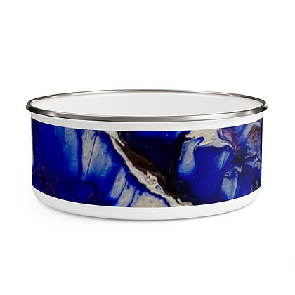 """In Bloom"" Enamel Bowl"