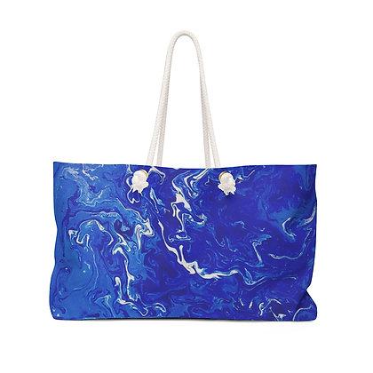 """""""Blue Swirl Bay"""" Weekender Bag"""